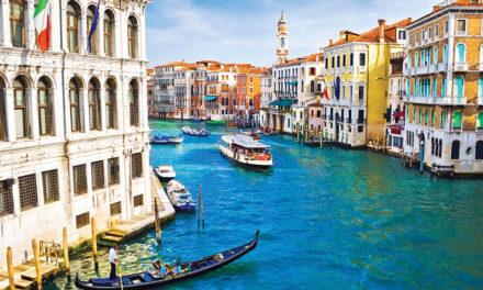 Een romantische vakantie in Venetië