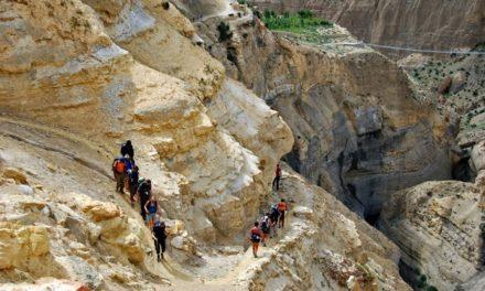Een bijzondere wandeling in het oude koninkrijk Mustang