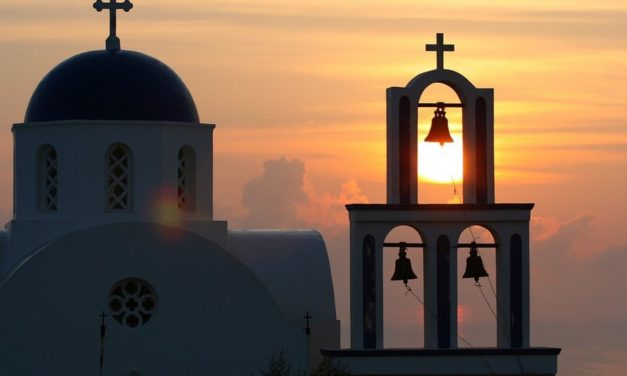 Santorini staat garant voor prachtige zonsondergangen