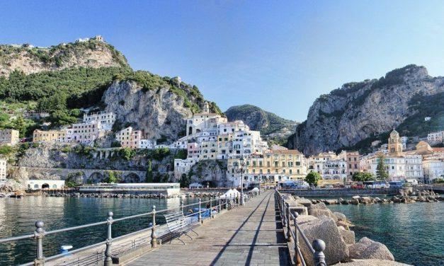 Zo mooi is de Amalfitaanse kust in Italië